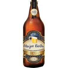 Cerveja Major Birita Pilsen Artesanal 600ml
