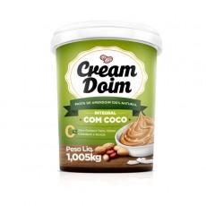 Pasta Creme de Amendoim Integral Com Coco - Cream Doim - 1.005Kg