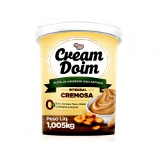 Pasta Creme de Amendoim Integral Cremosa - Cream Doim - 1.005Kg