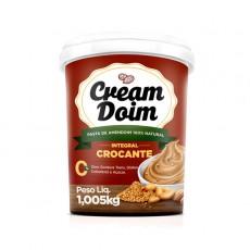 Pasta Creme de Amendoim Integral Crocante - Cream Doim - 1.005Kg