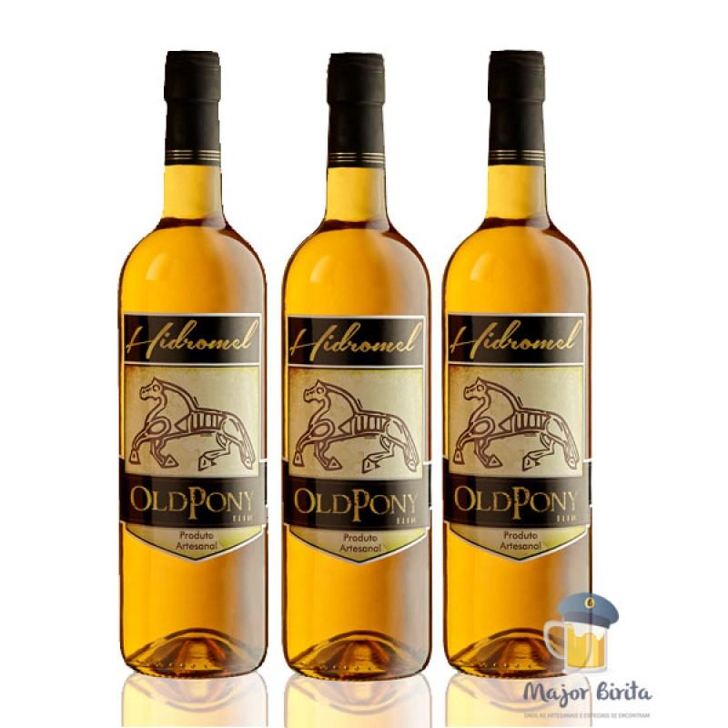 Hidromel Old Pony - 03 (três) garrafas de 750ml